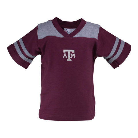 Two Feet Ahead - Texas A&M - Texas A&M Football T-Shirt