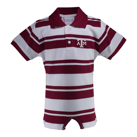 Two Feet Ahead - Texas A&M - Texas A&M Rugby T-Romper