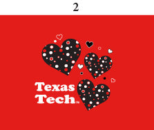 Texas Tech Toddler Short Sleeve T Shirt Print