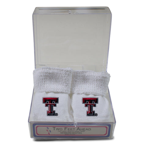Two Feet Ahead - Texas Tech - Texas Tech Gift Box Bootie
