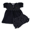 Two Feet Ahead - Vanderbilt - Vanderbilt Girl's Heart Dress with Bloomers