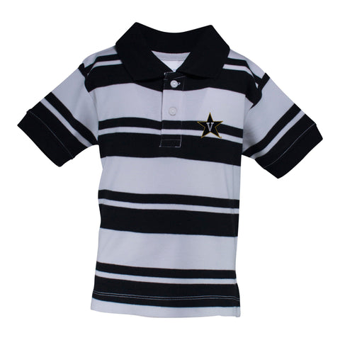 Two Feet Ahead - Vanderbilt - Vanderbilt Rugby Golf Shirt