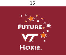 Two Feet Ahead - Virginia Tech - Virginia Tech Toddler Short Sleeve T Shirt Print