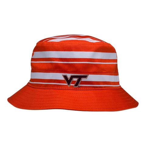 Two Feet Ahead - Virginia Tech - Virginia Tech Rugby Bucket Hat