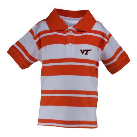Two Feet Ahead - Virginia Tech - Virginia Tech Rugby Golf Shirt