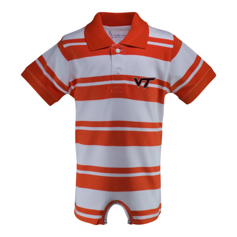 Two Feet Ahead - Virginia Tech - Virginia Tech Rugby T-Romper