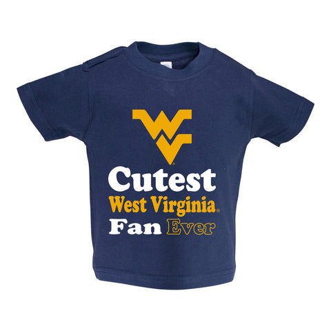West Virginia Toddler Short Sleeve T Shirt Print