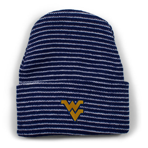 Two Feet Ahead - West Virginia - West Virginia Stripe Knit Cap