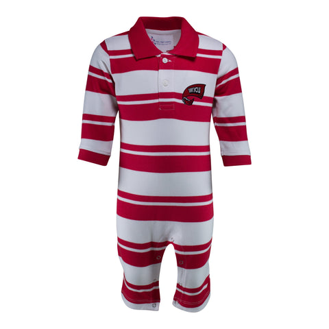 Two Feet Ahead - Western Kentucky - Western Kentucky Rugby Long Leg Romper
