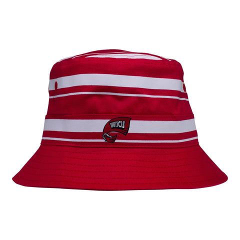 Two Feet Ahead - Western Kentucky - Western Kentucky Rugby Bucket Hat
