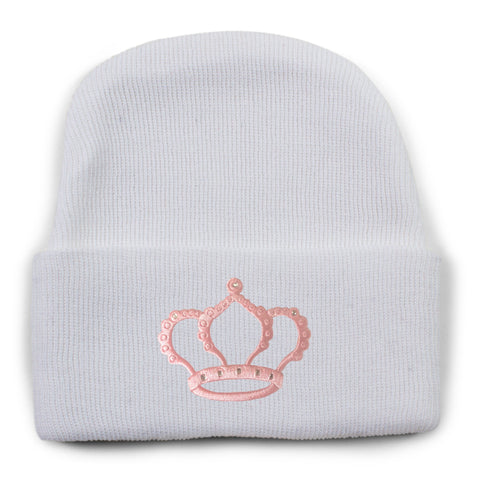 Two Feet Ahead - Infant Clothing - Newborn Princess Knit Cap