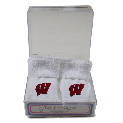 Two Feet Ahead - Wisconsin - Wisconsin Gift Box Bootie