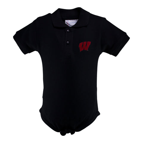 Two Feet Ahead - Wisconsin - Wisconsin Golf Shirt Romper