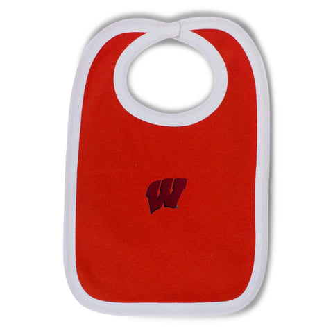 Two Feet Ahead - Wisconsin - Wisconsin Knit Bib