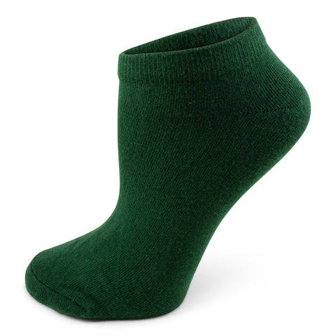 Two Feet Ahead - Socks - Women's Solid Footie