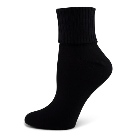 Two Feet Ahead - Socks - Women's Triple Roll Bobby Sock