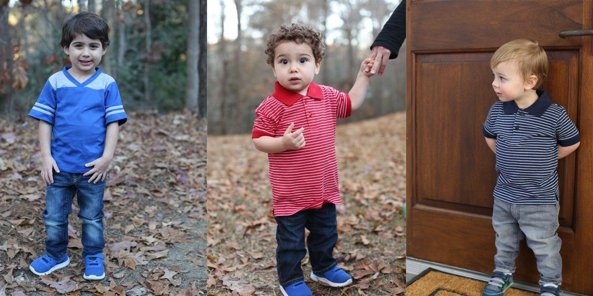 Two Feet Ahead Toddler Boy Collection