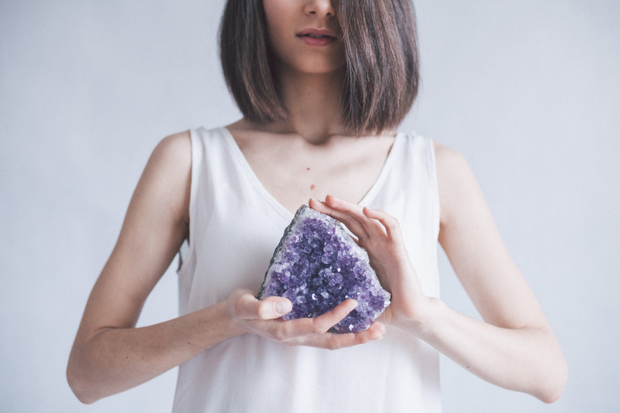 Using Your Crystals In A Meditation