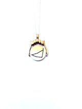 ON SALE! Zenith series - Capricorn zodiac star constellation spinner pendant