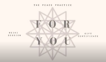 Email Version of The Peace Practice Gift Voucher