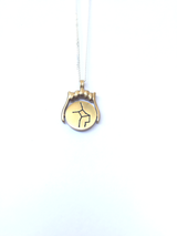 ON SALE! Zenith series - Virgo zodiac star constellation spinner pendant