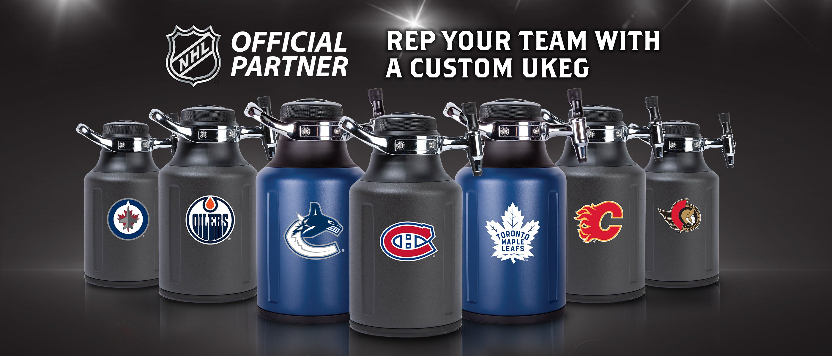 uKeg Go - NHL Team Editions