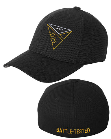 BATTLE-TESTED EMBROIDERED CAP
