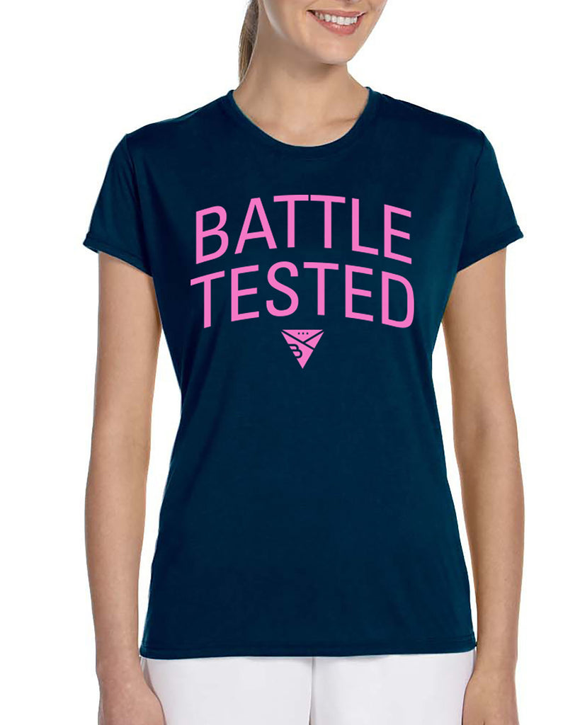 BATTLE-TESTED LADIES T-SHIRT