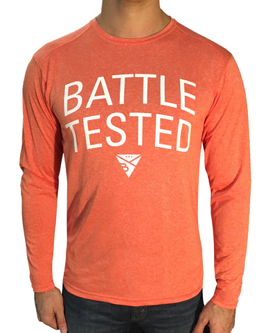 BATTLE-TESTED LONG SLEEVE T-SHIRT