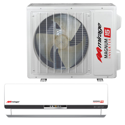 Mirage 16 SEER 18,000 BTU Air Conditioner-Mirage-Hydro Green Grow