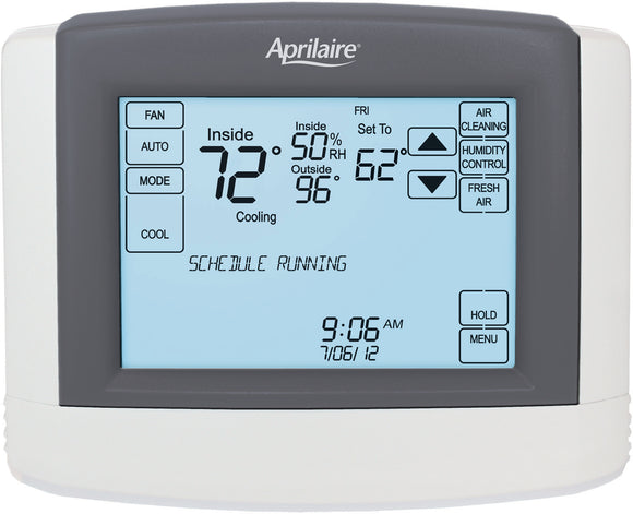 Touchscreen Wi-Fi Automation Thermostat IAQ Solution-hydrogreengrow.com