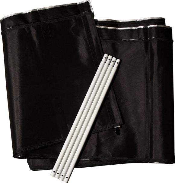 2' Extension Kit 9'x9' Gorilla Grow Tent-hydrogreengrow.com
