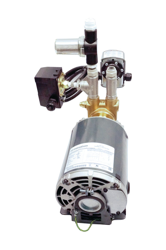 Pressure Booster Pump 120V Cont. Duty for Evolution-RO1000-hydrogreengrow.com