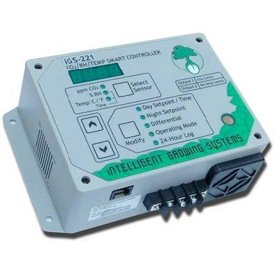 CO2/RH/Temp Controller Day/Night Settings, 6 Equipment-Intelligent Growing Systems (Plug & Grow )-Hydro Green Grow