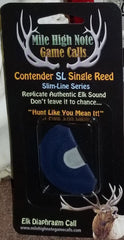"BZ - Contender ™ Single Reed ""SL"" Slimline Series Diaphragm Elk Call"