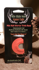 B - Mile High Warrior ™  Elk Call Triple Reed Diaphragm