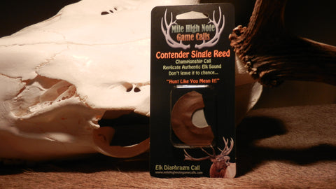 B - Contender ™ Elk Call Single Reed Diaphragm