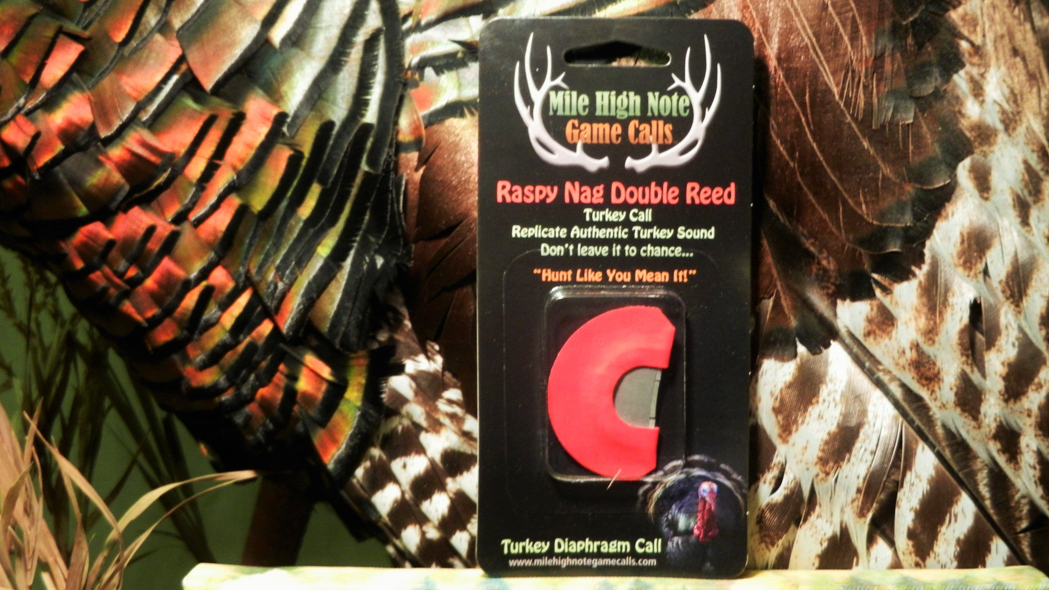 Raspy Nag ™  Turkey Double Reed Diaphragm Call
