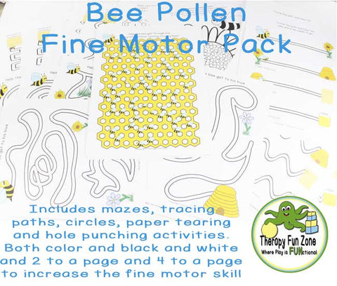 Bee Pollen Honey Fine Motor Pack