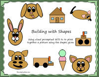 Building Pictures With Shapes