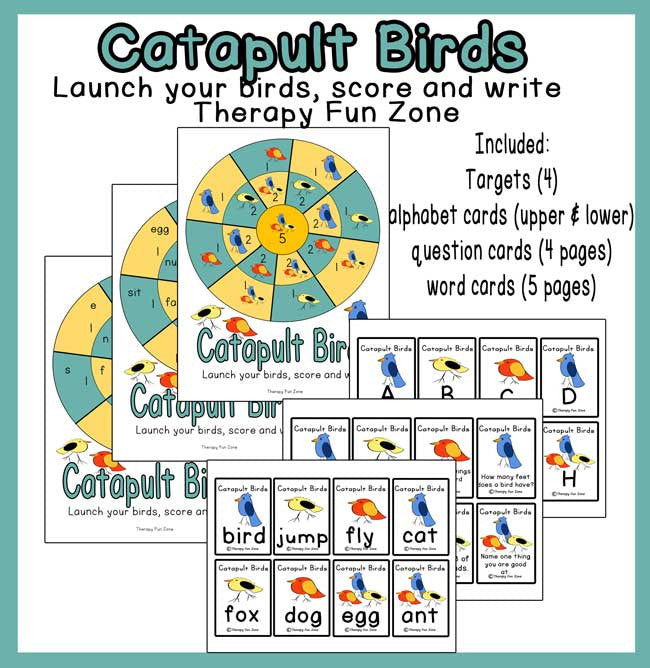 Catapult Birds