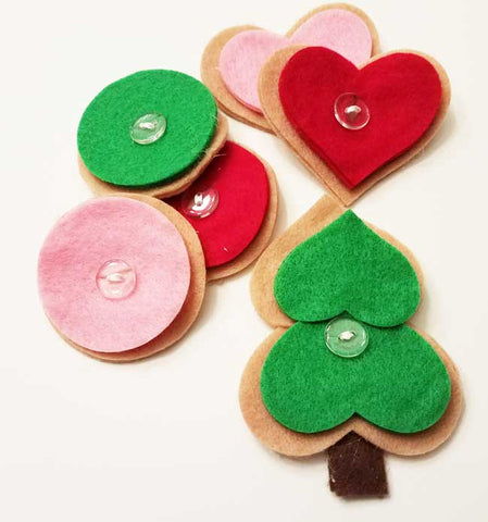 Button Cookie Decorating