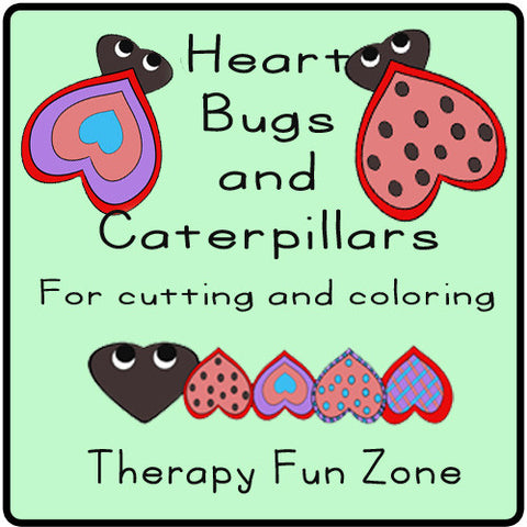 Heart Bugs and Caterpillars