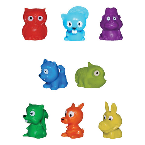mini animal putty pets (10 pack)