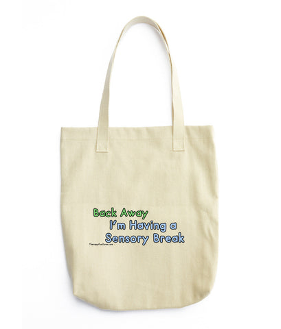 Sensory Break Tote bag