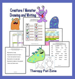 Creature / Monster Writing