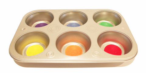 Color Sorting Muffin Tin