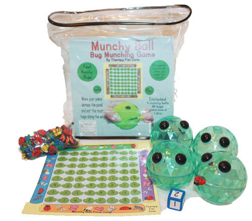 Pond Jump Game with 4 vinyl Munchy Balls