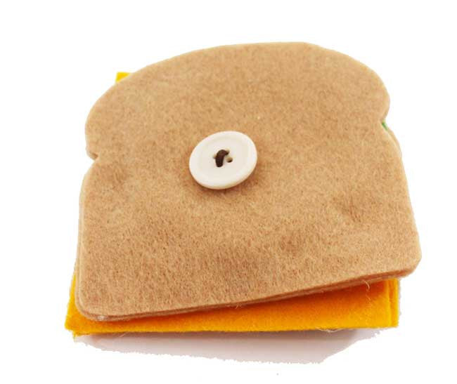 Sandwich Button Food