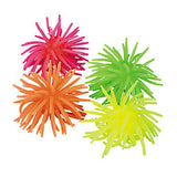 Small Squishy vinyl noodle ball (4 pack)